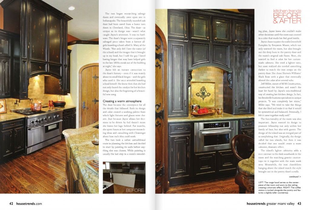Dayton House Trends home builder magazine